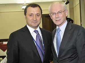 Vlad Filat - Image: Filat and Van Rompuy