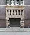 Finanzamt Steinstraße (Hamburg-Altstadt).Fassade Bugenhagenstraße.Einfahrt.29132.ajb.jpg