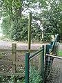 Fingerposts at the end of Landing Lane, Fulford Ings - panoramio.jpg