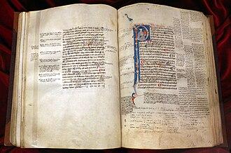 Prior Analytics - Aristotle Prior Analytics in Latin, 1290 circa, Biblioteca Medicea Laurenziana, Florence