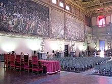 Sala Dei 500 Firenze.Salone Dei Cinquecento Wikipedia