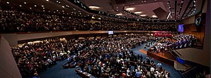 First Baptist Church of Jacksonville - Image: First Baptist Church worship