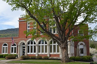 National Register of Historic Places listings in Marion County, Tennessee - Image: First National Bank of South Pittsburg