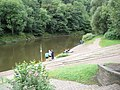 Fishing on The Severn at Ironbridge - geograph.org.uk - 1462588.jpg