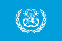 Flag of the International Maritime Organization.svg