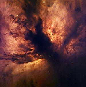 Flame Nebula - Image: Flame Nebula NGC 2024