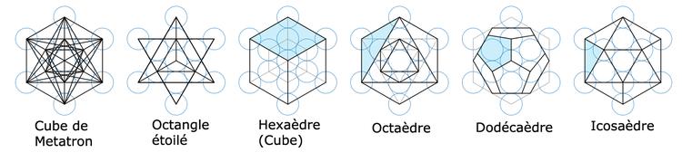 """Résultat de recherche d'images pour """"fleur de vie cube metatron"""""""