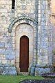Fleury-sur-Orne église Notre-Dame d'Allemagne-la-Basse porte 01.JPG