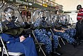 Flickr - Official U.S. Navy Imagery - Sailors wear a joint service mask leakage detection canopy..jpg
