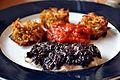 Flickr - cyclonebill - Rösti, tomatsauce og torsk bagt med oliventapenade.jpg