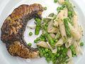 Flickr - cyclonebill - Stegt sejlfisk og pastasalat.jpg
