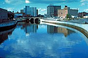Flint River in Flint MIchigan