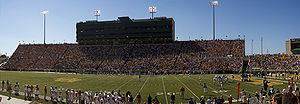 Baylor Bears football - Floyd Casey Stadium in 2005