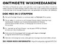 Flyer Personal acquaintances in Dutch - Ontmoete Wikimedianen - back.png