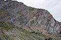 Folded Himalayan Rock Layers near Gushal in India.jpg