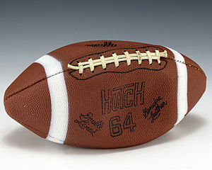 Johnny Unitas - A football signed by Johnny Unitas that was given to President Gerald Ford.