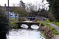 Footbridge over Letcombe Brook - geograph.org.uk - 1772350.jpg