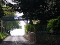 Footbridge over the road, Barton Court - geograph.org.uk - 6056.jpg
