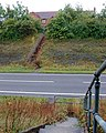 Footpath crossing Southam bypass by steps - geograph.org.uk - 1430204.jpg