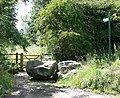 Footpath near Cliffe Hill Quarry - geograph.org.uk - 513981.jpg