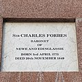 Forbes of Newe Obelisk - plaque two.jpg
