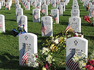 United States Department of Veterans Affairs emblems for headstones and markers - Image: Fort logan national cemetery 4
