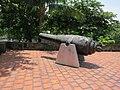 Fort of San Antonio Abad - northwestern cannon 1.JPG