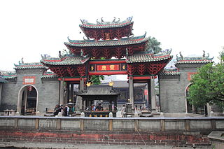 Foshan Ancestral Temple building in Foshan, China