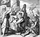 Foster Bible Pictures 0061-1 The Egyptians Afflicted the Israelites