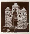 Fotografi från Jerusalem på modell av Salomons Tempel - Hallwylska museet - 104353.tif