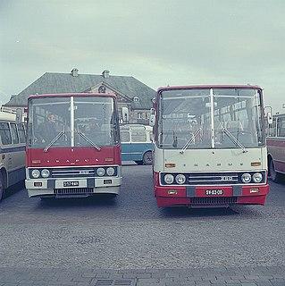 Ikarus 250 High-floor bus/coach manufactured by Ikarus