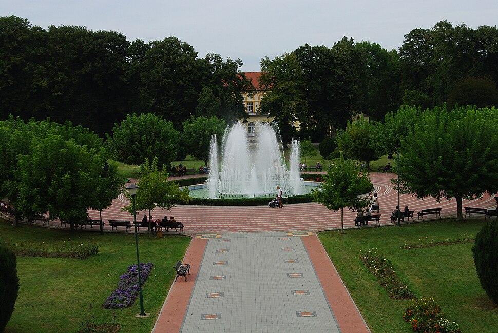 Fountain in Banja Koviljaca