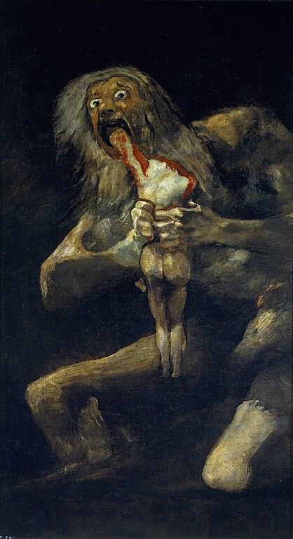 vos tableaux préférés 418px-Francisco_de_Goya%2C_Saturno_devorando_a_su_hijo_%281819-1823%29
