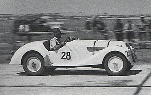 BMW 328 - Frank Pratt won the 1948 Australian Grand Prix driving a 328