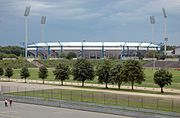 Das easyCredit-Stadion im August 2006