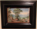 Frans Boels, paesaggio con cacciatori, fine del XVI sec. (olanda).jpg