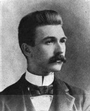 Frederic Stanley Dunn - Harvard graduation photo, 1894