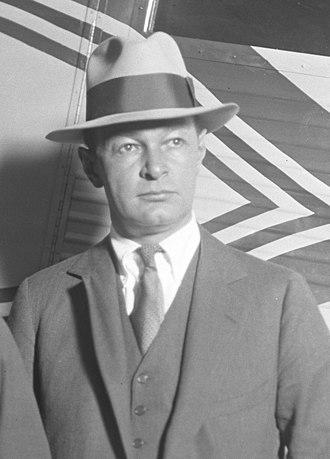 Frederick Rentschler - Rentschler in 1929