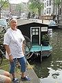 Free Travel-Shirt White NLD A'dam Groenburgwal MSZ090627.JPG