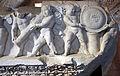 Fregio traianeo con amorini, dall'architrave del primo ordine interno della cella del tempio di venere genitrice, nel foro di cesare, 113 dc, 03.JPG