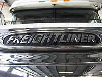 Freightliner bonnet badge.JPG