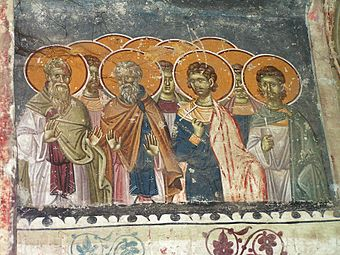 Frescos in St. George's Church (Staro Nagoricane) 063.jpg