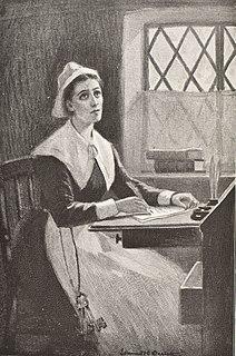 Anne Bradstreet Anglo-American poet