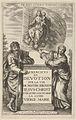 Frontispiece for Exercises de Devotion sur la Vie de Nostre Seigneur Iesus-Christ -...- MET DP836285.jpg