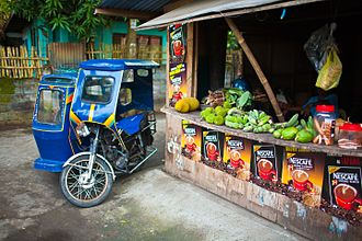 Donsol - Fruit stand, Donsol