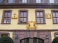 Fulda - Palais von der Tann, vergoldete Wappen über dem rechten Eingang.JPG