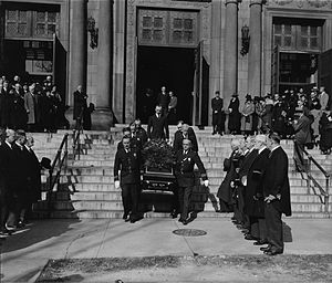 Pierce Butler (justice) - Image: Funeral of Justice Pierce Butler