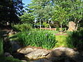 Furman University Japanese Garden - stream.JPG