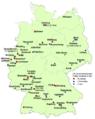 Fussball-Bundesliga Mannschaften je Ort in Deutschland 2012-2013.png