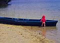 Future young fisherman on Mladost lake, Veles.jpg